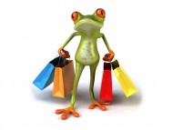Shopping Frog / 3D Animals