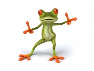 Dancing frog / 3D Animals