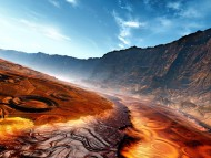 Magma surface / 3d Landscape