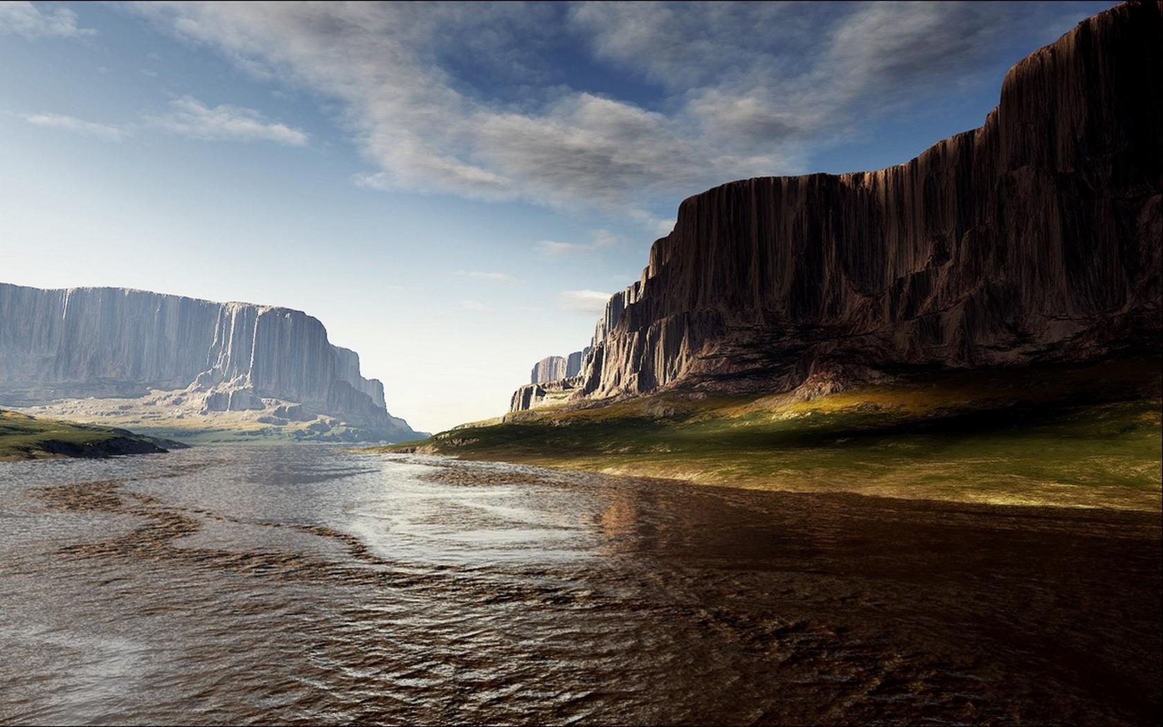 Free download high quality 3d landscape wallpaper num 154 for 3d outdoor wallpaper
