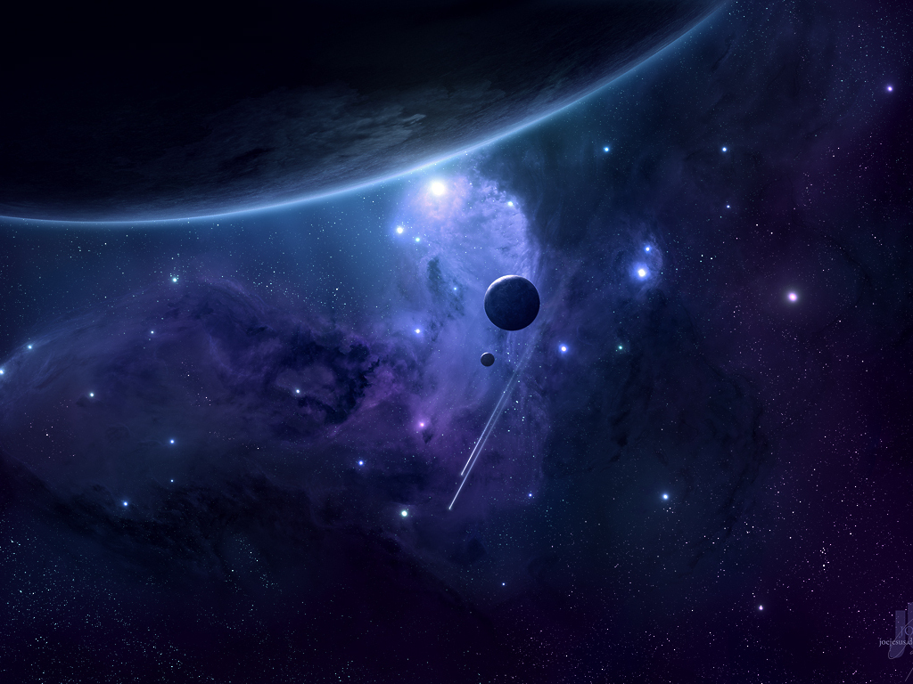Free download full size deep space 3d space wallpaper num for Space in 3d