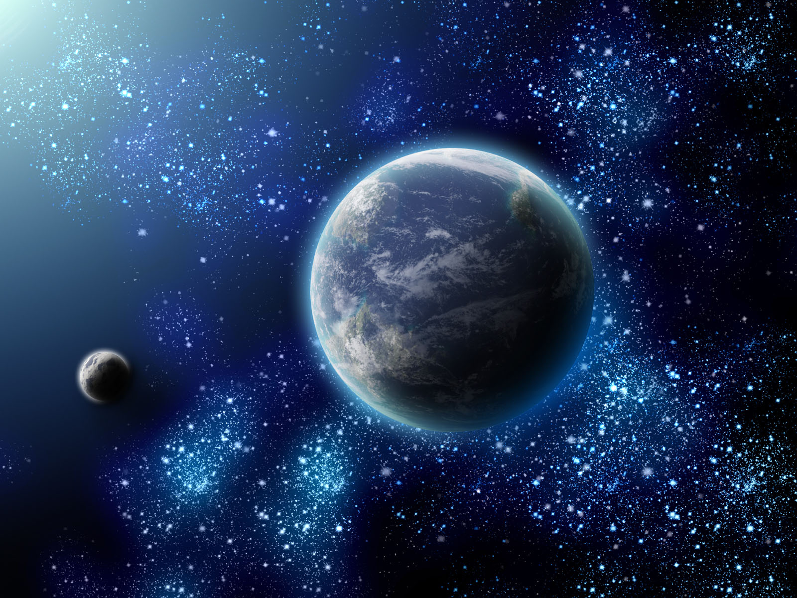 Free download hq stars 3d space wallpaper num 88 1600 x for 3d outer space