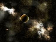 extragalactic nebula / 3d Space