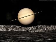Saturn / 3d Space