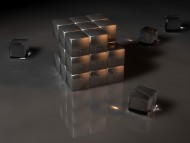 The cube / 3d