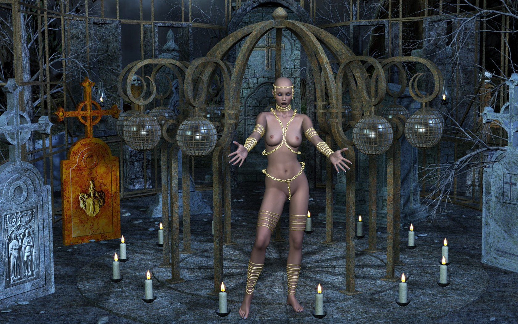 Wallpaper gothic naked hd hentia tube