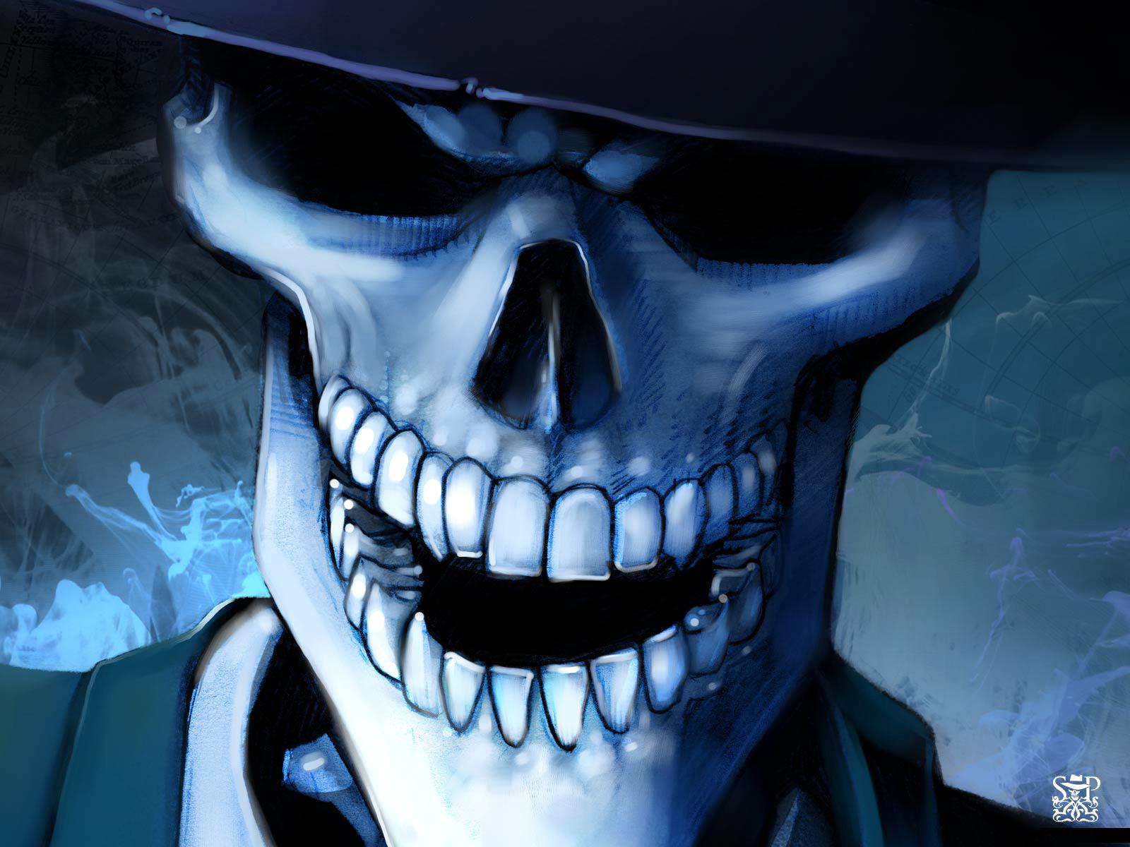 Free download hq skull hat horror wallpaper num 22 1600 x 1200 164