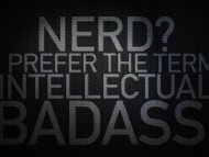 Download nerd, carbon fibre, badass, black / Surfaces