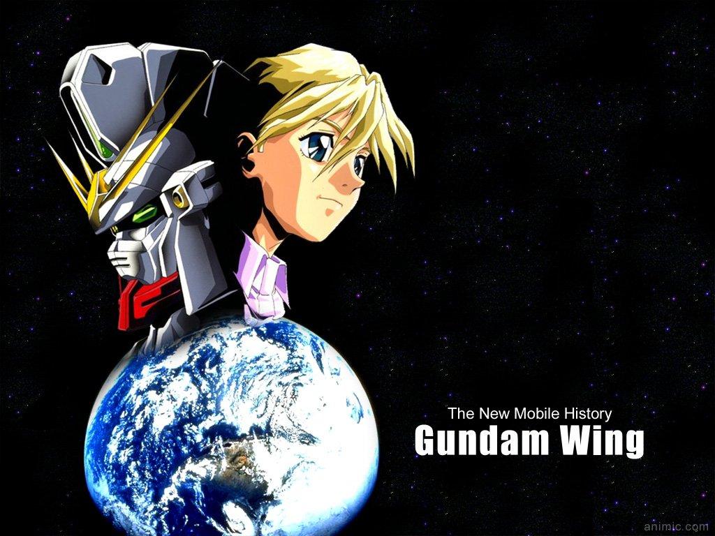 Gundam Wing Anime wallpaper