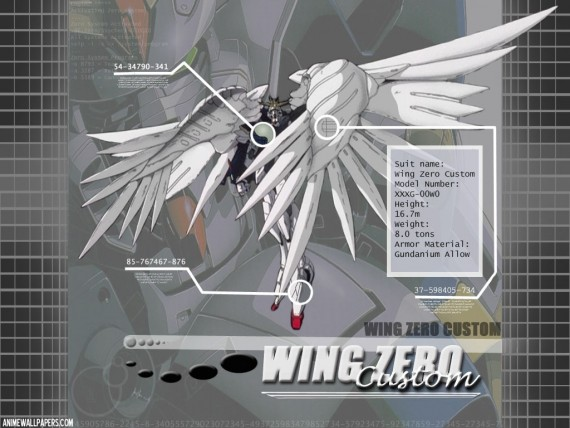gundam wing wallpaper. Send to Mobile Phone Gundam Wing Wallpaper Num. 23