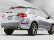 Acura MD X Back Concept / Acura