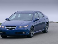 Acura TL type S blue front / Acura