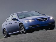 Download Acura TL type S blue front / Acura