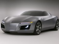Advanced Sports Car Concept front / Acura