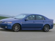 Acura TL type S blue side / Acura