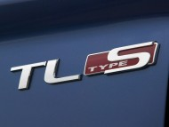 Acura TL type S logo / Acura