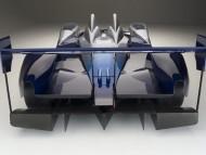 Acura American Le Mans Series Concept Car back / Acura