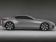 Advanced Sports Car Concept side / Acura