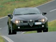 Black Brera front / Alfa Romeo