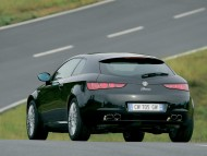 Black Brera back / Alfa Romeo