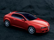 Red Brera side view / Alfa Romeo