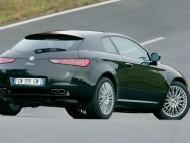 Black Brera back / Alfa Romeo