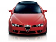 Red Brera front / Alfa Romeo