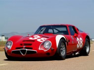 red retro / Alfa Romeo