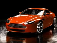 V8 vantage N400 front / Aston Martin
