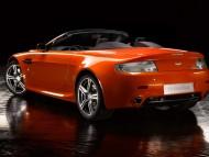 V8 vantage N400 back / Aston Martin
