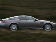 DB9 silver side / Aston Martin