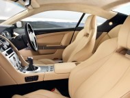DB9 interior saloon car / Aston Martin