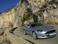 DB9 silver / Aston Martin