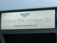 vantage RS V12 inscription / Aston Martin