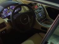 DB9 interior saloon car / Aston Martin