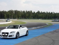 TT ABT white coupe cabriolet outdoor / Audi