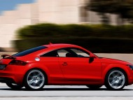 TT red coupe side / Audi