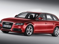 A4 avant red universal front / Audi