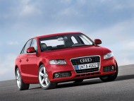 A4 red front / Audi