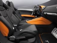 TT Clubsport passenger compartment / Audi