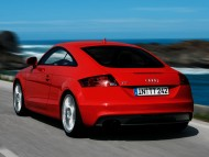 TT red coupe back / Audi
