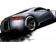 R zero prototype back / Audi