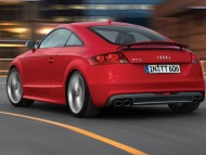 TT S red coupe back / Audi