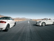 TT nothelle white coupe cabriolet wide / Audi
