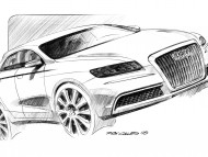 Roadjet drawing sketch scheme / Audi