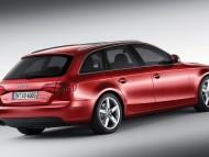 A4 avant red universal back / Audi