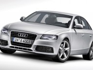 A4 silver front / Audi