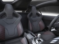 R8 V12 TDI 2008 racing seat / Audi