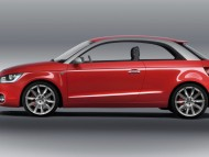 red metroproject side / Audi