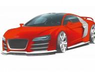R8 TDI LM figure Le mons / Audi